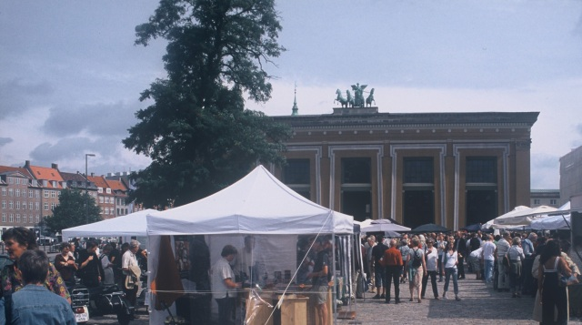 Italienske markedsdage. Foto: Thorvaldsens Museum