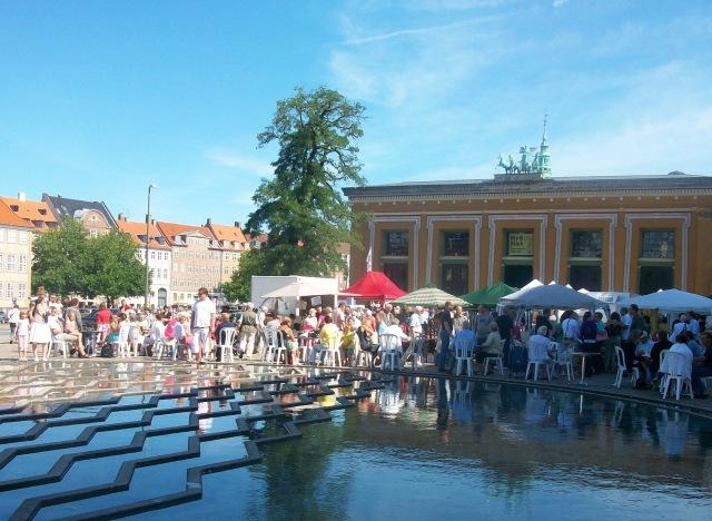 Italien kommer til København ved de italienske markedsdage. Foto: Thorvaldsens Museum