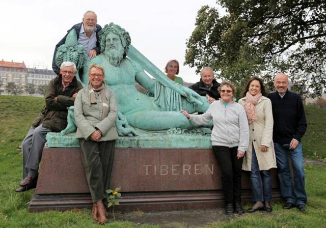 Romselskabet S.P.Q.R.'s bestyrelse ønsker, at de var ved Tiberen.