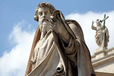 Apostlene holder øje fra Peterskirken i Rom