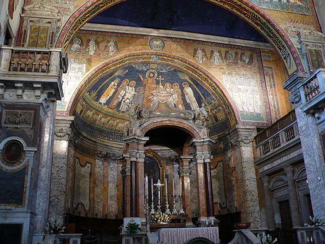 Apsis mosaik S Prassede